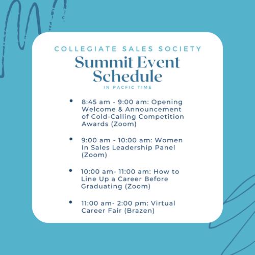 summit schedule
